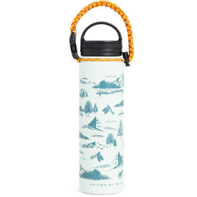 United By Blue Mountain Vista Stainless Steel Bottle 650ml green